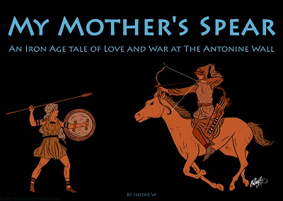 A Pictish warrior woman faces off against a Sarmatian warrior woman